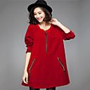 ajuste holgado de color sólido falda corta de las mujeres xinyayi