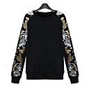 camisa de la manera gruesa nueva manga larga g364a-8558 de Eleanor mujeres