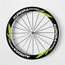 aurora carreras de 700c 50mm ancho 23mm ruedas ruedas de fibra de carbono remachador bicicleta