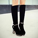 botas altas francis gato de la manera de la rodilla de tacón alto de las mujeres 44-18-1