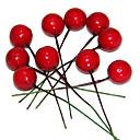 0.8inch conjunto de 10 adornos de Navidad fruta pequeña, de espuma