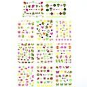 1  11pcs 3d de transferencia de agua pegatinas de uñas impresión Pegatinas de dibujos animados sexy para las decoraciones de uñas de arte de uñas (25