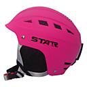 estrella casco unisex abs rosa esquí (m para 48-56cm, l para 56-62cm)