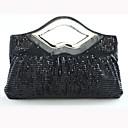 damas SexyLady F002 elegante bolsa de noche negro