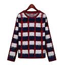 Feiya colores surtidos comprobar knitwear8286 azul