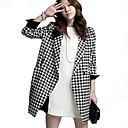 abrigo chaqueta coreano moda mujer Gemei