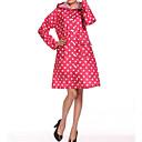 E-smile Women's Hoodie All Matching Polka Dots Overcoat