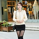 Womens Round Collar Short Down Coat