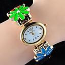colorido reloj pulsera femenina margarita magníficos de las mujeres