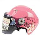 ak ™ 623 de alta calidad de material ABS anti-vaho cascos rresistant desgaste medio casco de la motocicleta