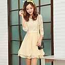 AIYI Chiffon Dress
