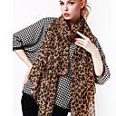 bufanda del estampado leopardo de la moda de las mujeres sophia
