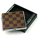 cigarrillo rejilla de cuero personalizado metálico 16 (de cigarrillos)