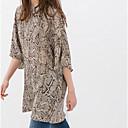 Anne Womens Round Collar All Match Floral Print Dress