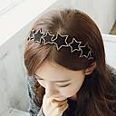 jamp;banda de pelo de cuero d estrella