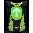 control remoto bikeman ™ llevó la luz de advertencia en marcha mochila 5l