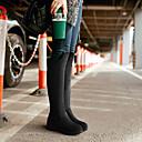 botas altas francis gato de la manera rodilla cordones de los zapatos de las mujeres 71-161