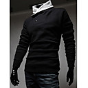 City Men's Casual Basic Fashion Soft Hoodies