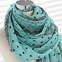 2014 nueva bufanda de invierno versión coreana de las mujeres de la gasa de la bufanda suide b08 11 azul