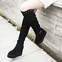 causual moda bajo talón cómodo botas de plataforma temperamento de las mujeres winble
