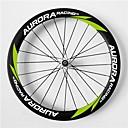 aurora 700c de carreras de 50 mm 20.5mm de ancho ruedas ruedas de fibra de carbono remachador bicicleta