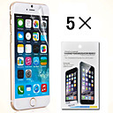 New Edition High Quality Screen Protector for iPhone 6 Plus 5.5 (5 PCS)