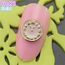 10pcs sh475 aleación 3d del arte del clavo del clavo de DIY salón de belleza de uñas decoración de uñas especial de reloj de diseño de lujo