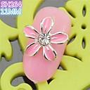 10PCS SH264 Special Flower Design Luxury Rhinestone 3D Alloy nail art DIY Nail beauty Nail Decoration Nail Salon