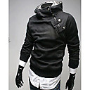 ZOMOT Men's Long Sleeve Slim Fur Collar 100% Cotton Causual Fashion Sweatshirts