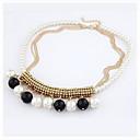 bromista collar de perlas de imitación de Miki mujeres