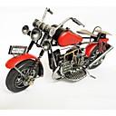 artículos de equipamiento modelo de color de la motocicleta de la artesanía de hierro rojo (color de imágenes)