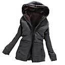 Fashion Long Sleece Hooodie Coat