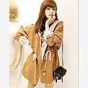 adaptado abrigo de cuello de muy buen gusto de la mujer Yisa