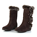 Nicy Women's All Matching Flat Heel Snow Boots