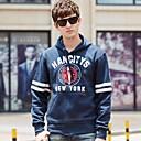 DaHeiLang Mens Pullover Baseball Uniform Long Sleeve Hooded Sweater