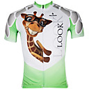 PALADINSPORT  Mens Short Sleeve Cycling Clothes(Upper)
