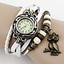 Tomono búho colgante reloj de la pulsera de la vendimia