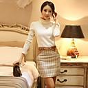 cuello alto manga larga térmica camiseta de las mujeres sara