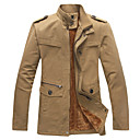 SENLEIS Mens Fashion Long Sleeve All Match Coat