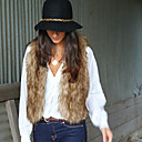 capa del chaleco europeo de yami mujeres