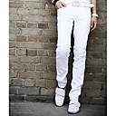 de los hombres chapucero todos mtach pantalón casual de color sólido