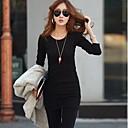 camisa básica larga engrosamiento de Coco zhang mujeres