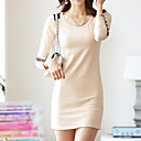 Lilijia Womens Long Sleeve Thick Dress