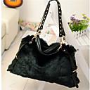 todo el bolso del color sólido de las mujeres del gato negro a juego de la vendimia