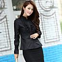 camisa de encaje coreano de las mujeres soho