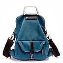 azul crossbody bolsa de asas de la mochila de la mujer