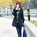 capa delgada de la manga de soplo coreana de soho mujeres