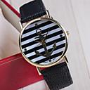 modelo de la raya relojes de moda causual de genes