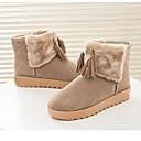 borla caliente botas de nieve de encaje de la moda