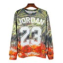 Durian Mens 2014 Cool All Match Floral Print T-Shirt